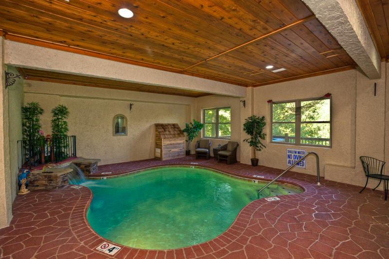 room pools cabins indoor vacation usa with forge kings tennessee rental private lodge mountain pool rentals theater pigeon